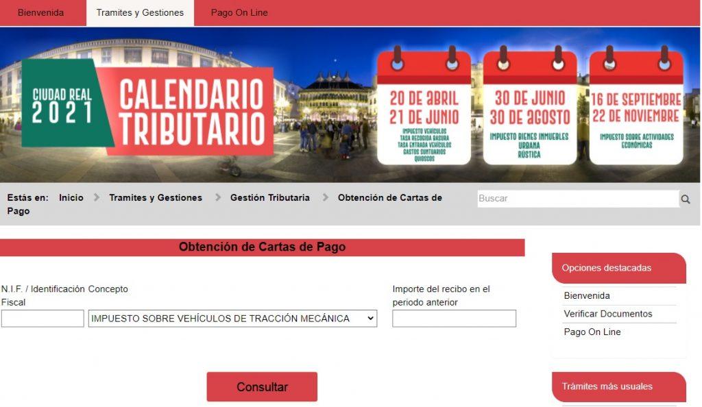 Web Ayto. Ciudad Real
